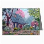 Essex House Cottage -AveHurley ArtRevu.com- Greeting Card