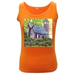 Essex Lighthouse -AveHurley ArtRevu.com- Women s Dark Tank Top