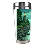 Jerrys Lighthouse - Ave Hurley - Wrap Canvas Version Stainless Steel Travel Tumbler