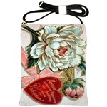 Victorian Valentine Card Shoulder Sling Bag
