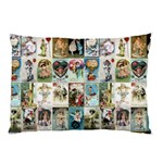 Vintage Valentine Cards Pillow Case