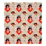 Vintage Valentine Shower Curtain 66  x 72  (Large)