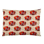 Vintage Valentine Hearts Pillow Case