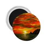Alyssa s Sunset -Ave Hurley ArtRevu.com- 2.25  Magnet
