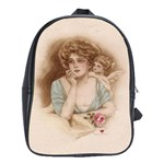 Vintage Valentine School Bag (Large)