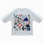 Nautical Collage Baby T-shirt