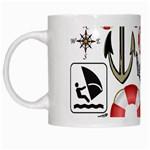 Nautical Collage White Coffee Mug