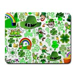 St Patrick s Day Collage Small Mouse Pad (Rectangle)