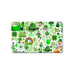 St Patrick s Day Collage Magnet (Name Card)