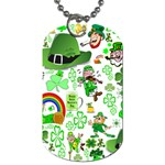 St Patrick s Day Collage Dog Tag (One Sided)