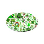 St Patrick s Day Collage Sticker 100 Pack (Oval)