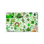 St Patrick s Day Collage Sticker 100 Pack (Rectangle)