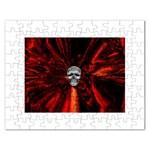 Skeleton in Blood Bath Jigsaw Puzzle (Rectangular)