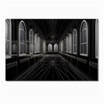 3-D Gothic Fantasy Cathedral Postcard 4 x 6  (Pkg of 10)