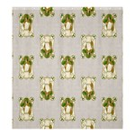 Victorian St Patricks Day Shower Curtain 66  x 72  (Large)