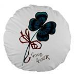 Victorian St Patrick s Day 18  Premium Round Cushion