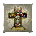 Easter Cross Cushion Case (Two Sides)