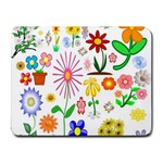 Summer Florals Small Mouse Pad (Rectangle)