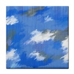 Abstract Clouds Ceramic Tile