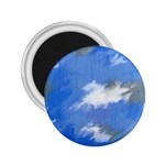 Abstract Clouds 2.25  Button Magnet