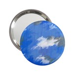 Abstract Clouds Handbag Mirror (2.25 )