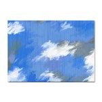 Abstract Clouds A4 Sticker