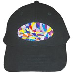 Fractured Facade Black Baseball Cap
