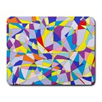 Fractured Facade Small Mouse Pad (Rectangle)