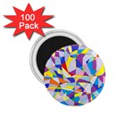 Fractured Facade 1.75  Button Magnet (100 pack)