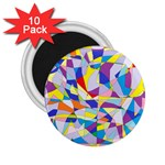Fractured Facade 2.25  Button Magnet (10 pack)