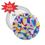 Fractured Facade 2.25  Button (100 pack)