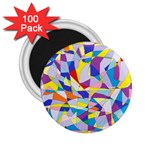 Fractured Facade 2.25  Button Magnet (100 pack)