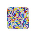 Fractured Facade Drink Coaster (Square)