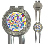 Fractured Facade Golf Pitchfork & Ball Marker