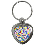 Fractured Facade Key Chain (Heart)