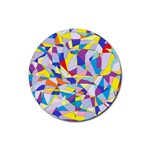 Fractured Facade Drink Coasters 4 Pack (Round)