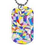 Fractured Facade Dog Tag (One Sided)