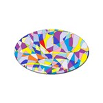 Fractured Facade Sticker 10 Pack (Oval)