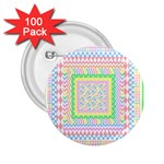 Layered Pastels 2.25  Button (100 pack)