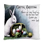 Victorian Easter  Cushion Case (Two Sides)