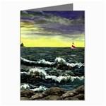 Cosgriff Point Lighthouse -AveHurley ArtRevu.com- Greeting Cards (Pkg of 8)