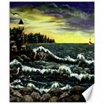 Cosgriff Point Lighthouse -AveHurley ArtRevu.com- Canvas 8  x 10