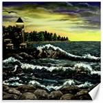 Cosgriff Point Lighthouse -AveHurley ArtRevu.com- Canvas 12  x 12