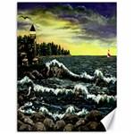 Cosgriff Point Lighthouse -AveHurley ArtRevu.com- Canvas 12  x 16