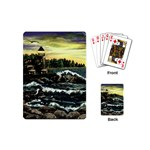 Cosgriff Point Lighthouse -AveHurley ArtRevu.com- Playing Cards (Mini)