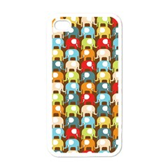 Elefunts! Apple Iphone 4 Case (white) by Contest1888309