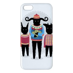 Nightmare Knitting Party Iphone 5s Premium Hardshell Case by Contest1888822