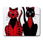 Cool Cats Small Mouse Pad (Rectangle)