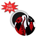 Cool Cats 1.75  Button Magnet (100 pack)