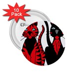Cool Cats 2.25  Button (10 pack)